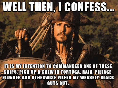 Jack Sparrow Commandeer the GOP